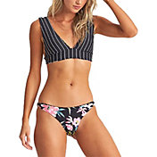Billabong Women's Find A Way Reversible Lowrider Bikini Bottoms