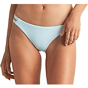 Billabong Women's Rolling By Tab Side Lowrider Bikini Bottoms