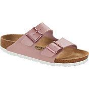 Birkenstock Women's Arizona Birko-Flor Metallic Sandals