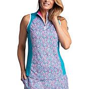 Bette & Court Women's Allure Sleeveless Golf Polo