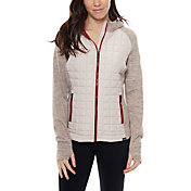 Be Boundless Quilted Poly Active Knit Hooded Jacket