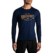 Brooks Men's Distance Graphic Long Sleeve T-Shirt