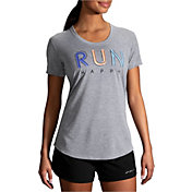 Brooks Women's Distance Short Sleeve Graphic T-Shirt
