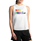 Brooks Women's Empower Her Collection Girl in Sport Distance Running Graphic Tank Top