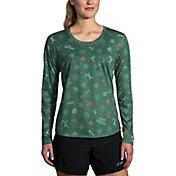 Brooks Women's Run Merry Distance Graphic Long Sleeve Running Shirt