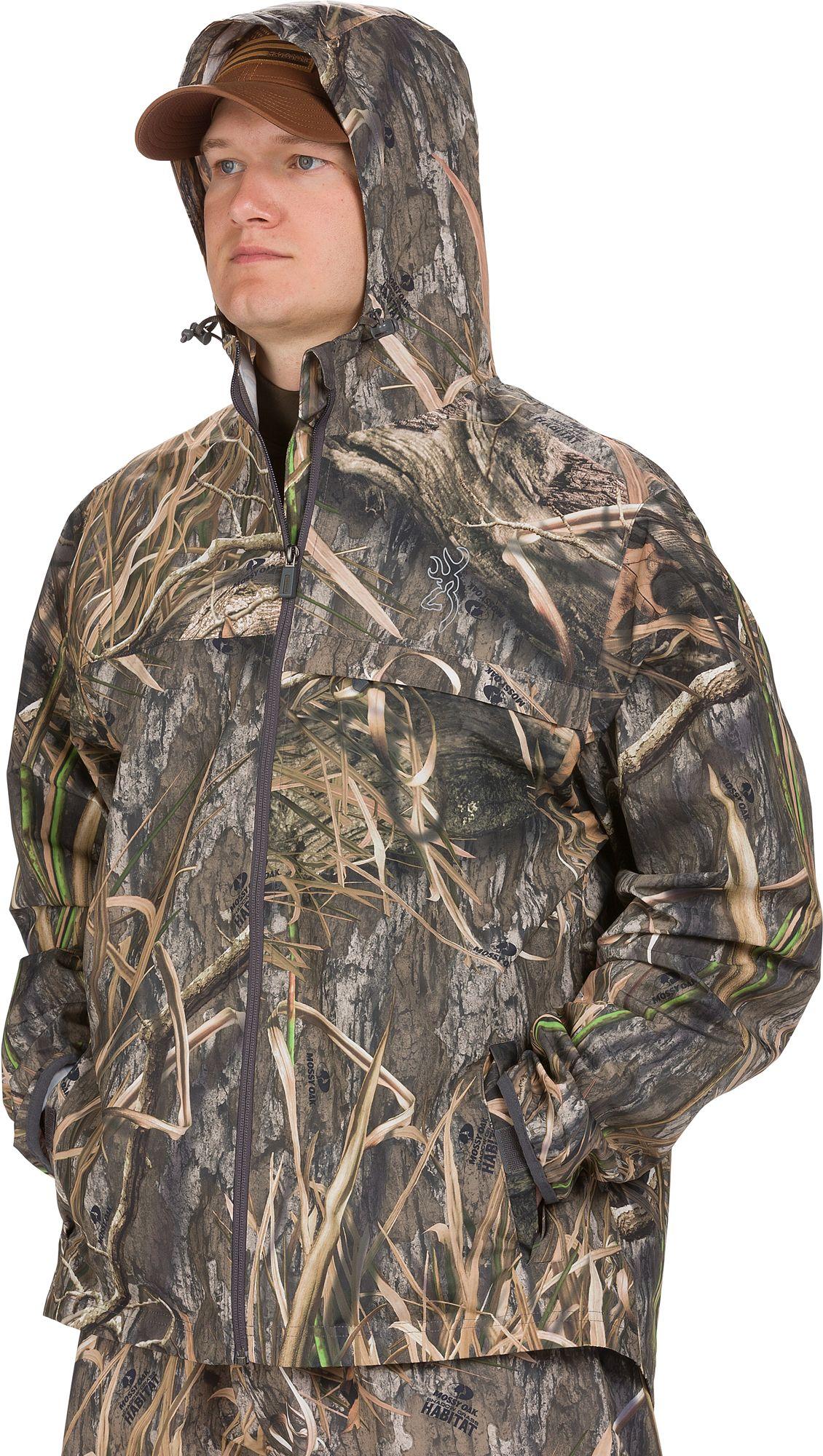Browning CFS Hunting Rain Jacket, Men's, Medium, Mossy Oak Shadow Grass thumbnail