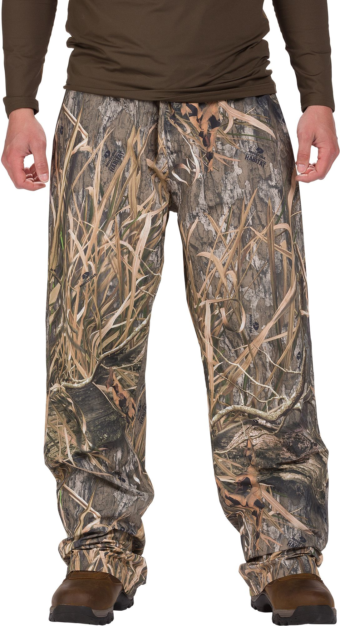 Browning CFS Hunting Rain Pants, Men's, Medium, Mossy Oak Shadow Grass