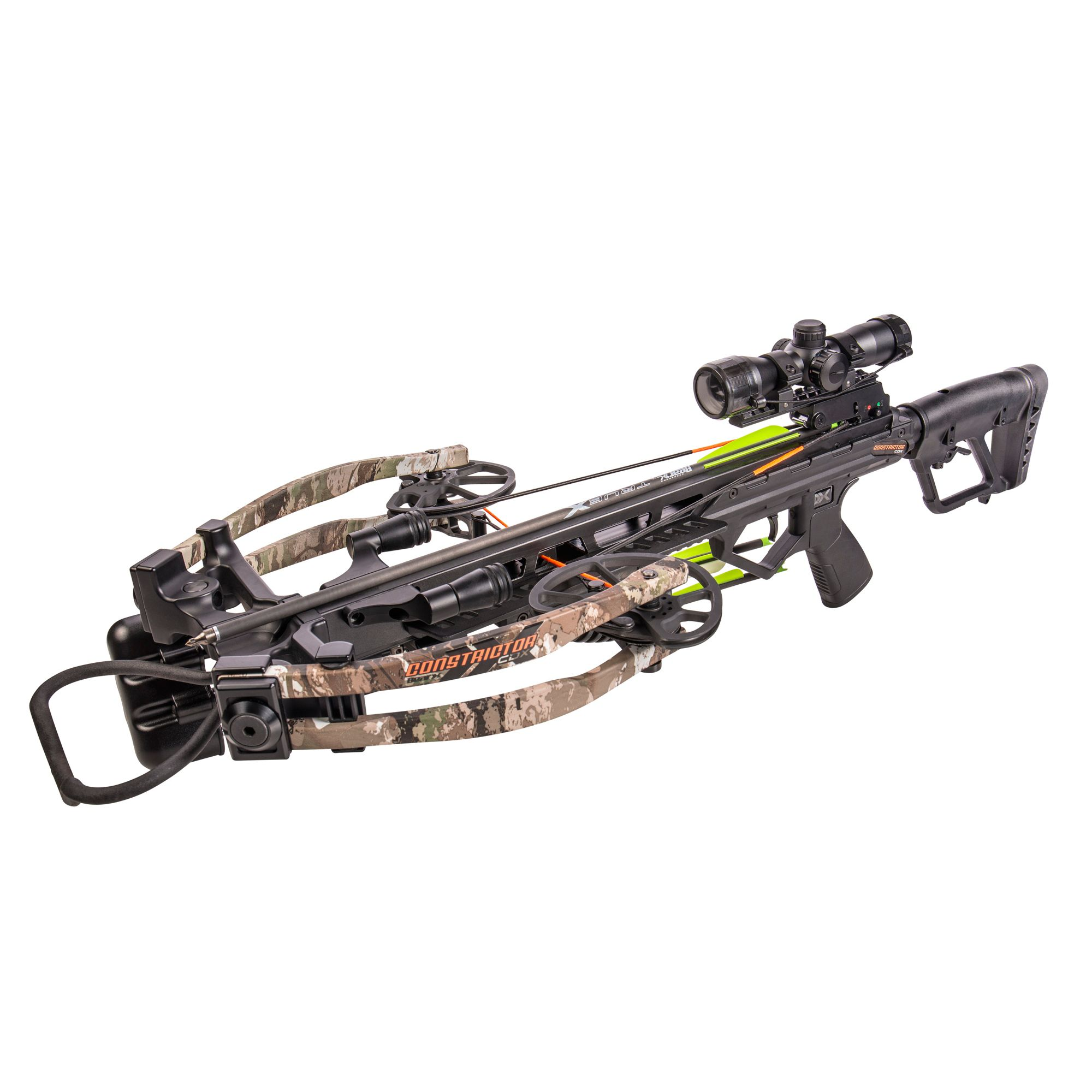 Bear X Constrictor CDX Crossbow Package - 410 FPS, fire thumbnail
