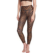 Betsey Johnson Women's Tiger Print 7/8 Leggings