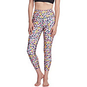 Betsey Johnson Women's Floral Print 7/8 Leggings