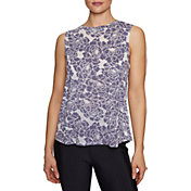 Betsey Johnson Women's Floral Swing Sleeveless Tank Top