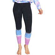 Betsey Johnson Women's 7/8  Tye Dye Leggings