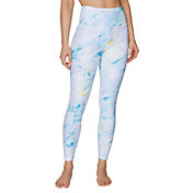 Betsey Johnson Women's Swirl Print 7/8 Leggings