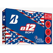 Bridgestone 2019 e12 SOFT Golf Balls Patriot Pack – 15 Pk