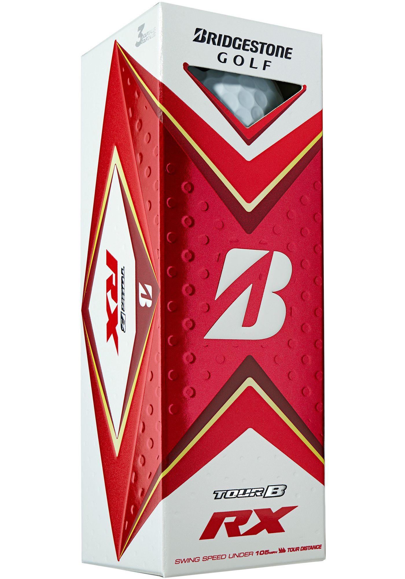 Bridgestone 2020 TOUR B RX Golf Balls – 3 Pack