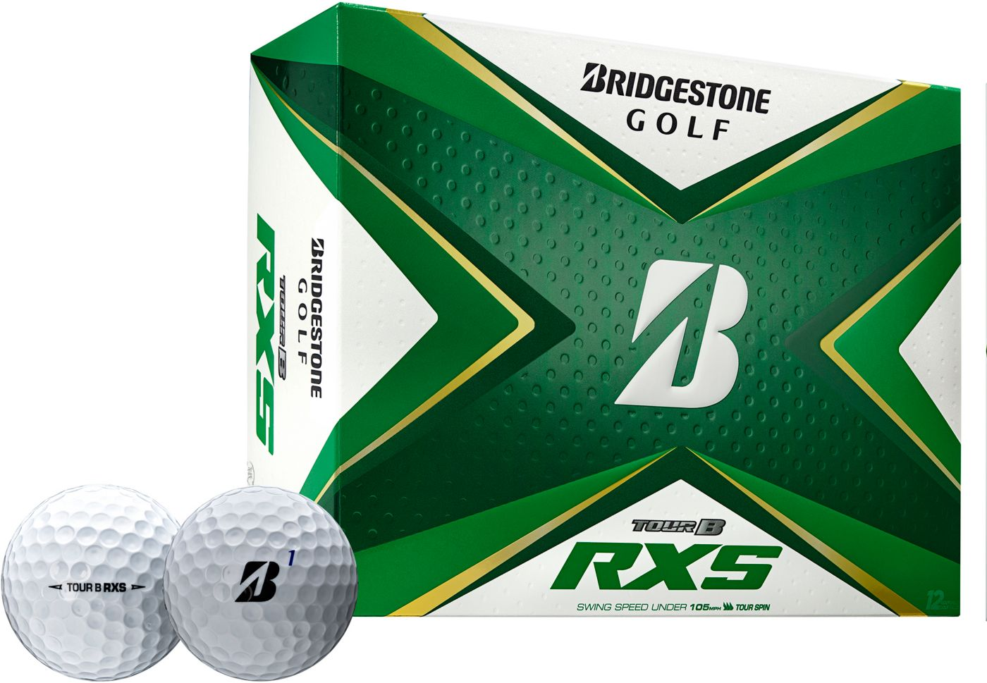 Bridgestone 2020 TOUR B RXS Golf Balls