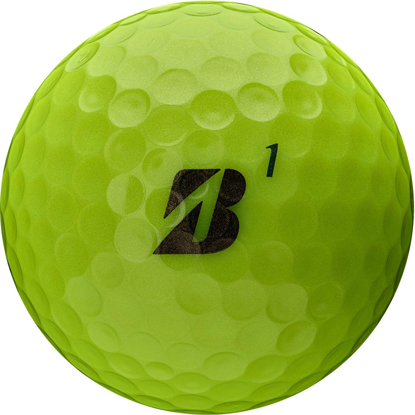 Bridgestone 2020 TOUR B RXS Optic Yellow Personalized Golf Balls