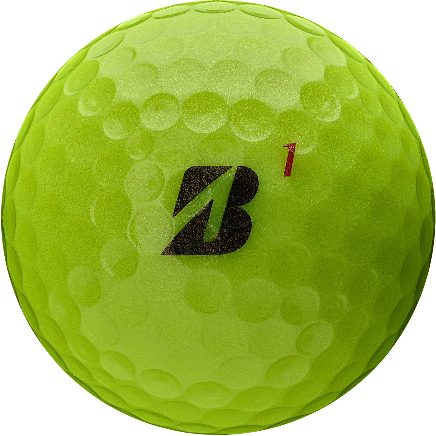 Bridgestone 2020 TOUR B RX Optic Yellow Golf Balls