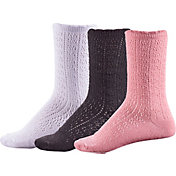 CALIA by Carrie Underwood Women's Lifestyle Pointelle Socks - 3 Pack