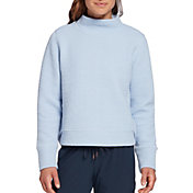 CALIA by Carrie Underwood Women's Cloud Mock Neck Pullover Sweater