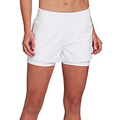 CALIA by Carrie Underwood Women's Anywhere 5'' Double Layer Shorts