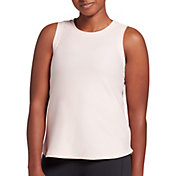 CALIA by Carrie Underwood Women's High-Low Mesh Tank Top (Regular and Plus)