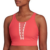 CALIA by Carrie Underwood Women's Scallop Trim Crop Top