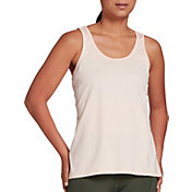CALIA by Carrie Underwood Women's Flow Textured Strappy Back Tank Top