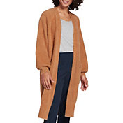 CALIA by Carrie Underwood Women's Eyelash Duster Cardigan (Regular and Plus)