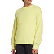 CALIA by Carrie Underwood Women's Journey Eyelash Pullover Sweater