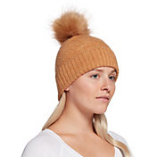 CALIA by Carrie Underwood Women's Yarn Pom Beanie