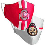 Colosseum Youth Ohio State Buckeyes 2-Pack Face Coverings