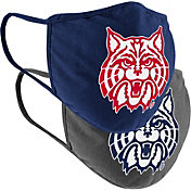 Colosseum Adult Arizona Wildcats 2-Pack Face Coverings