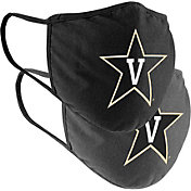 Colosseum Vanderbilt Commodores 2-Pack Face Coverings