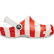 Crocs Kids' Classic American Flag Clogs