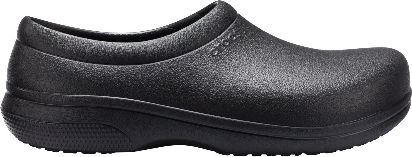 Crocs Adult On The Clock Work Slip On Shoes