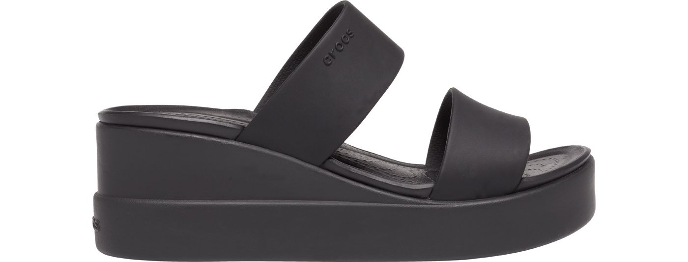 Crocs Women's Brooklyn Mid Wedge Sandals