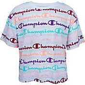 Champion Girls' Boxy Short Sleeve T-Shirt