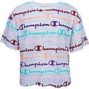 Champion Girls' Boxy Short Sleeve T-Shirt