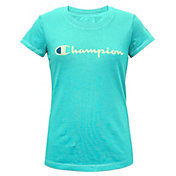 Champion Girls' Solid Graphic T-Shirt