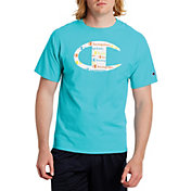 Champion Men's Big C Script T-Shirt