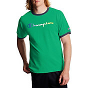Champion Men's Classic Graphic Ringer T-Shirt