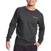 Champion Men's Classic Graphic Long Sleeve T-Shirt