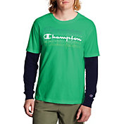 Champion Men's Jersey 2 Fer T-Shirt