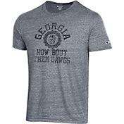 Champion Men's Georgia Bulldogs Grey Ultimate T-Shirt