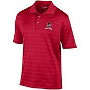Champion Men's Georgia Bulldogs Red Retro Logo Textured Polo