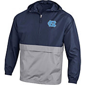 Champion Men's North Carolina Navy Packable Quarter-Zip Jacket