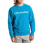 Champion Men's Powerblend Applique Crew Sweatshirt