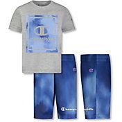 Champion Little Boys' Block Graphic T-Shirt and Shorts Set