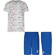 Champion Toddler Boys' Script T-Shirt and Shorts Set
